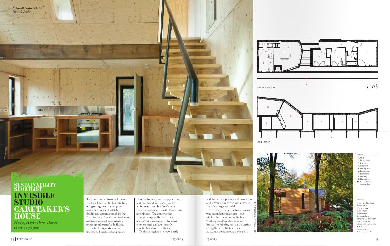 Invisible Studio Architects Aj Small Projects Award 2013