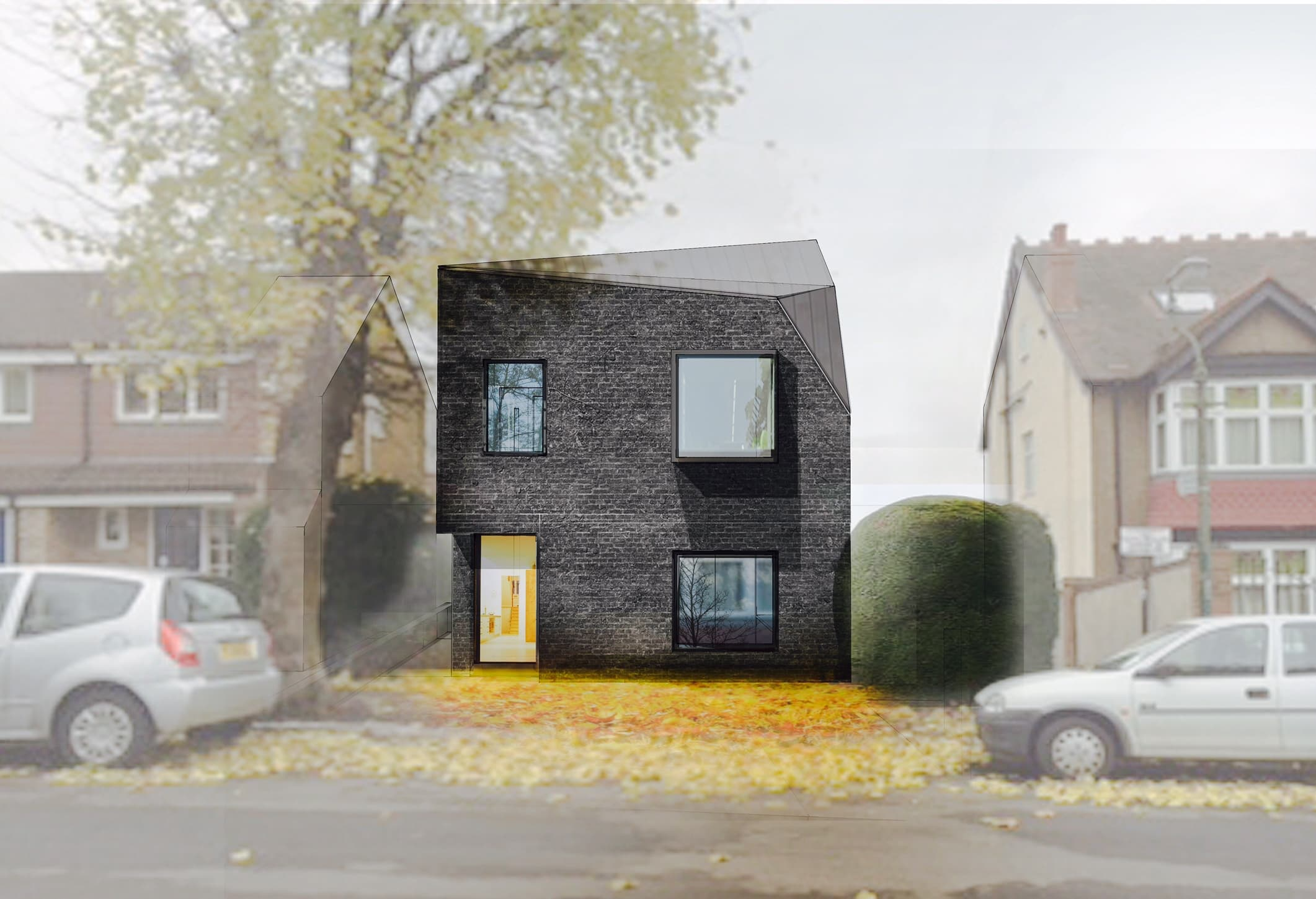 Invisible studio architects new house london architect for In house architect